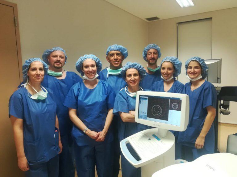 Rádio Regional do Centro: Coimbra: Hospital da Luz com técnica inovadora no tratamento da córnea
