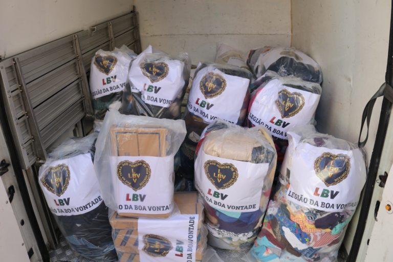 Rádio Regional do Centro: Legião da Boa Vontade entregou doações para Moçambique