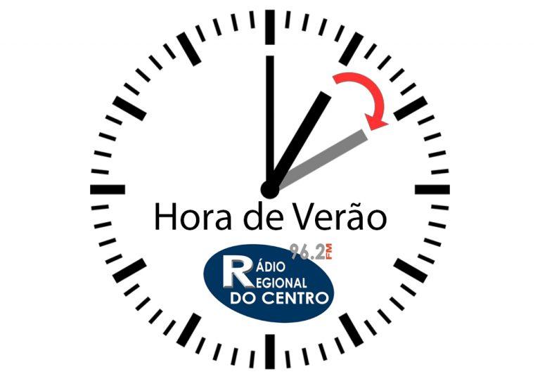 Rádio Regional do Centro: Relógios adiantam uma hora na madrugada de domingo