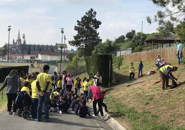 Rádio Regional do Centro: Batalha: Acções no Dia da Terra sensibilizam para a preservação do ambiente