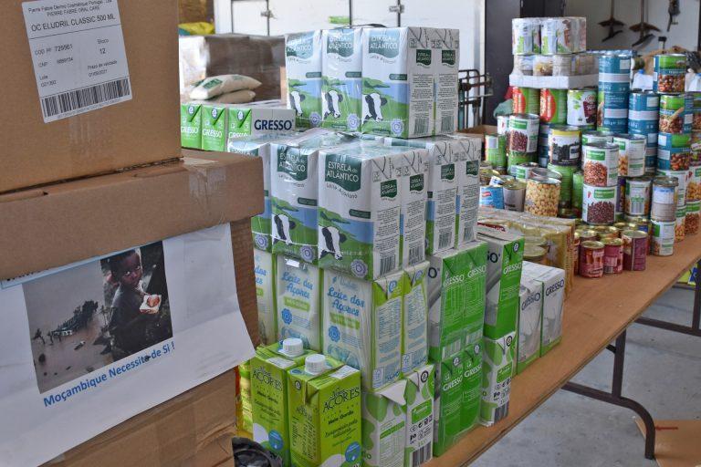 Rádio Regional do Centro: Montemor enviou para Moçambique nove toneladas de produtos