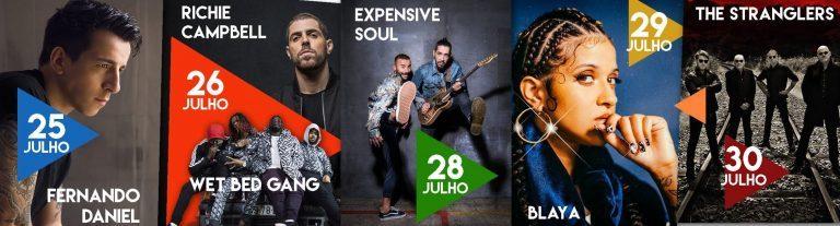 Rádio Regional do Centro: Stranglers, Fernando Daniel e Blaya são novidades na Expofacic