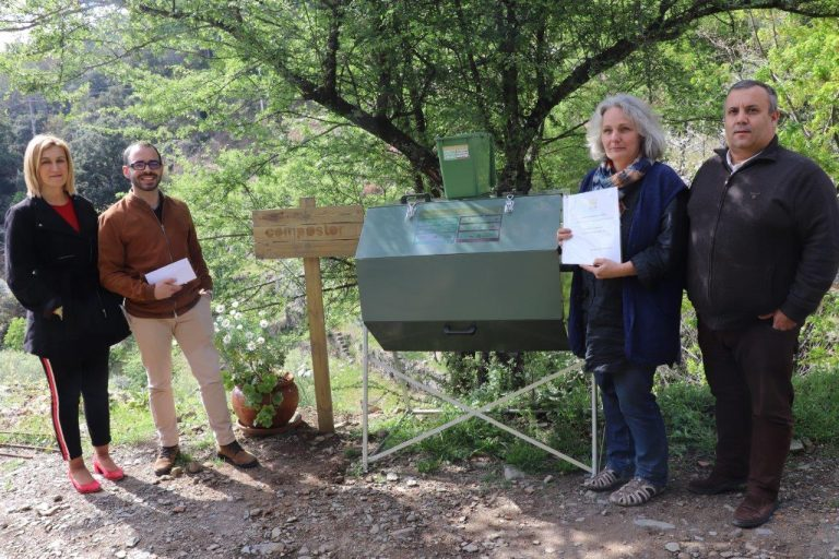 Rádio Regional do Centro: Lousã: Compostagem comunitária na aldeia serrana da Cerdeira