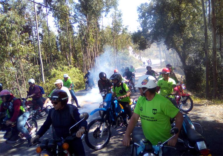 Rádio Regional do Centro: Pombal: Passeio de motas antigas do NADA com aumento de participantes
