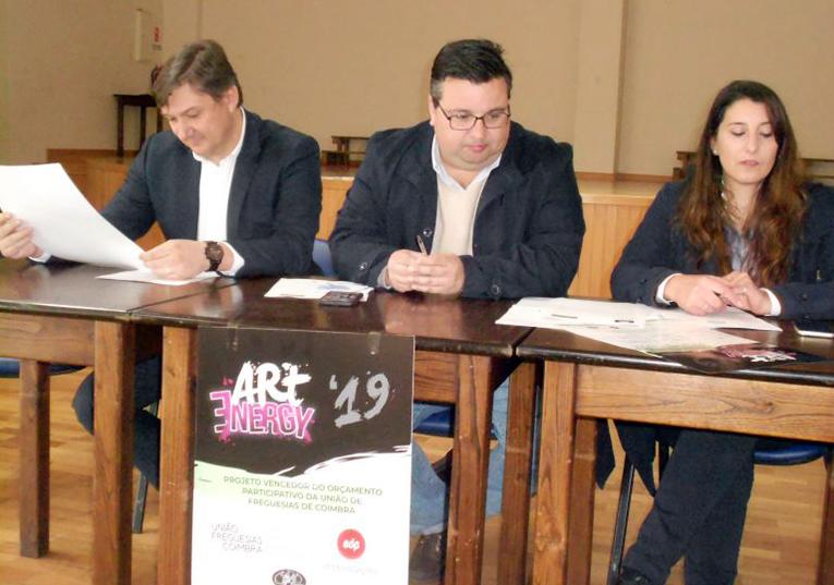 """Rádio Regional do Centro: """"ArtEnergy"""" vai valorizar espaço urbano da Pedrulha"""