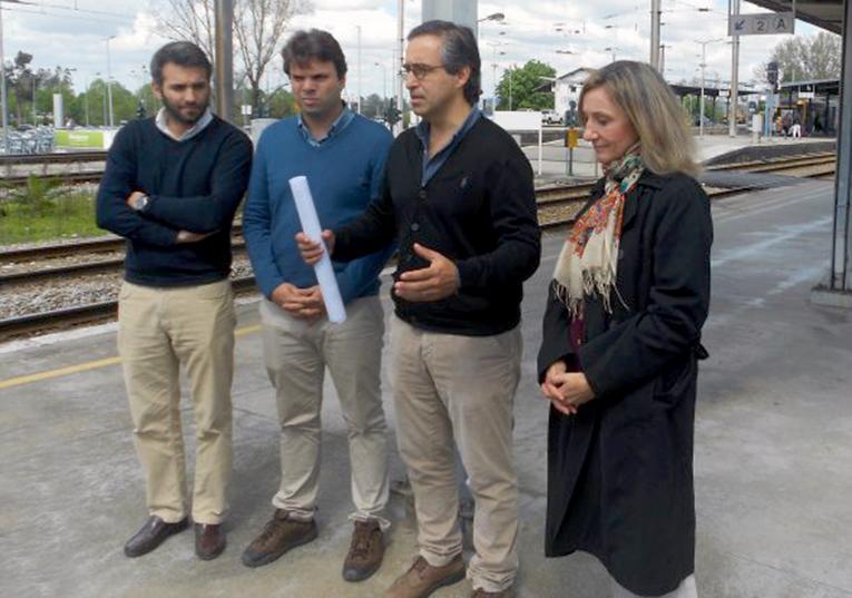 """Rádio Regional do Centro: Coimbra: PSD associa estação ferroviária a """"opção estratégica"""""""