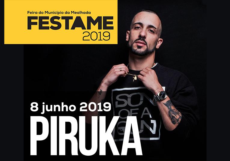 Rádio Regional do Centro: Rapper Piruka confirmado na FESTAME a 8 de Junho