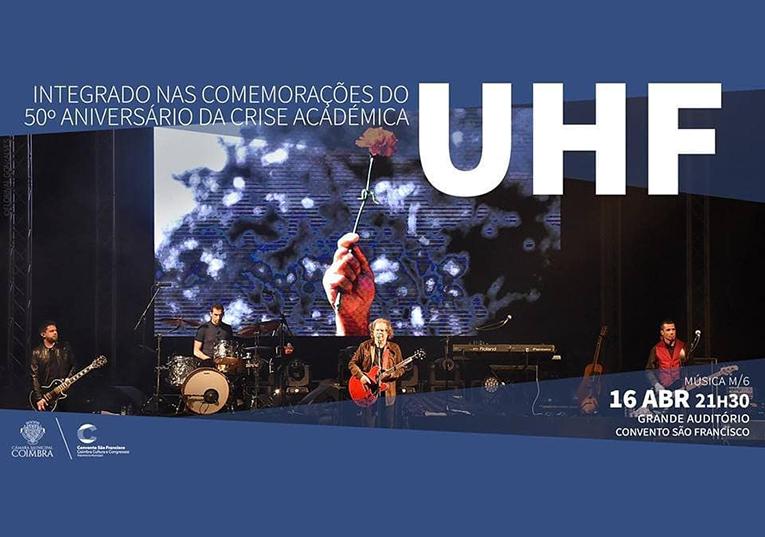 """Rádio Regional do Centro: Coimbra: UHF no 50º. aniversário da """"Crise académica"""""""