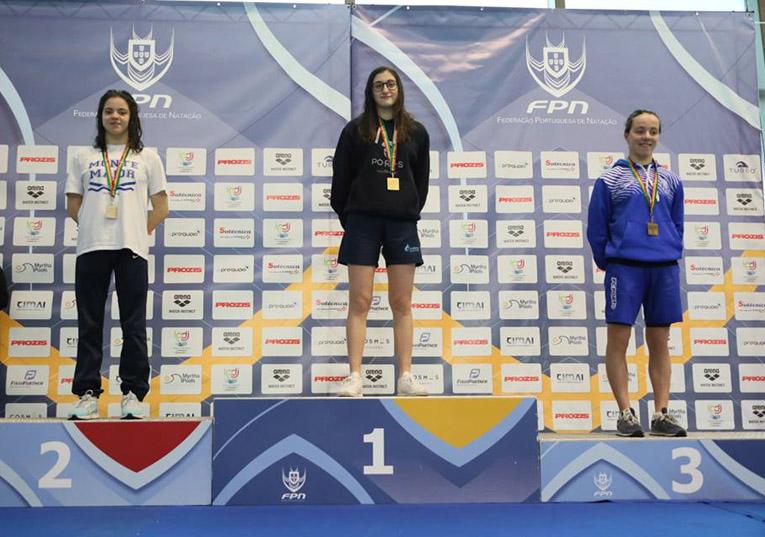 Rádio Regional do Centro: Condeixa: Nadadora Ana Rita Queiroz sagra-se campeã nacional de juniores