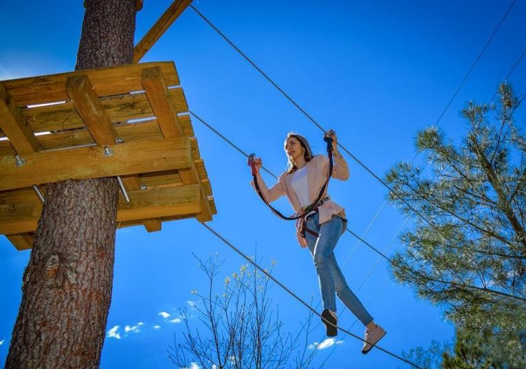 Rádio Regional do Centro: Penela: Espinhal ganha parque de arborismo