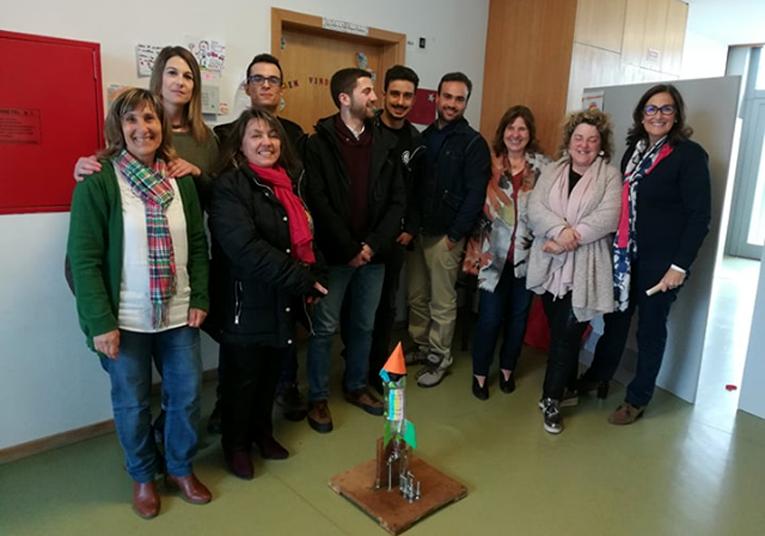 Rádio Regional do Centro: Ciência Aeroespacial nas escolas de Condeixa