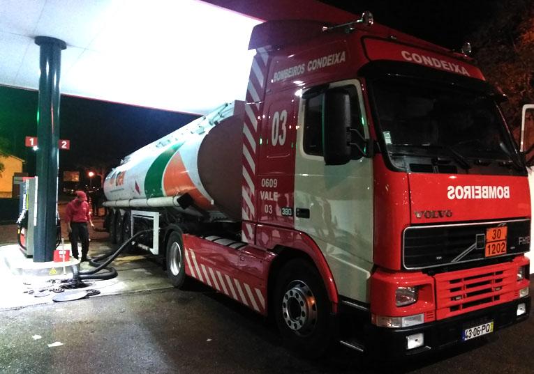 Rádio Regional do Centro: Condeixa: Bombeiros obrigados a transportar combustível para assegurar serviços