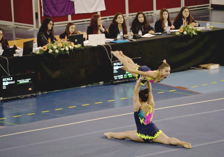 Rádio Regional do Centro: Ansião recebeu torneio distrital de ginástica acrobática