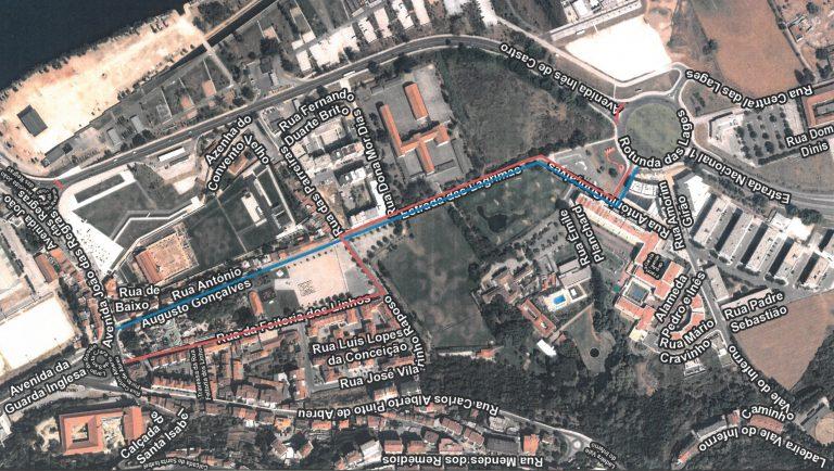 Rádio Regional do Centro: Coimbra com três dias de trânsito condicionado