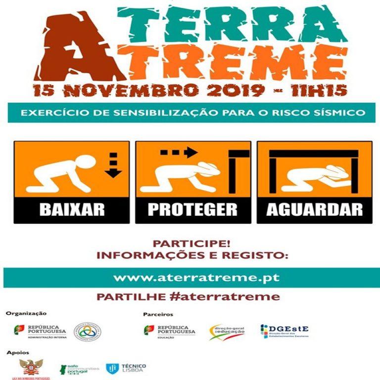 """Rádio Regional do Centro: Exercício público """"A Terra Treme"""" acontece amanhã"""