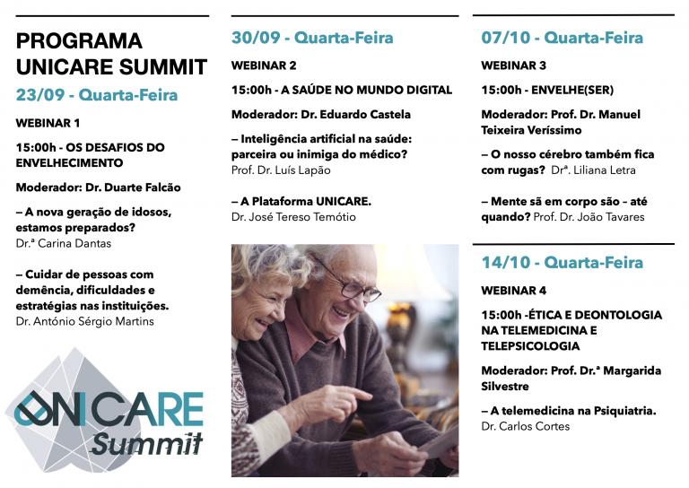 Rádio Regional do Centro: UNICare Summit dinamiza webinars sobre utilização de tecnologias na saúde