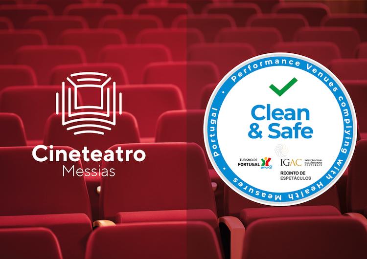 """Rádio Regional do Centro: Cine-Teatro Messias na Mealhada obteve selo """"Clean & Safe"""""""