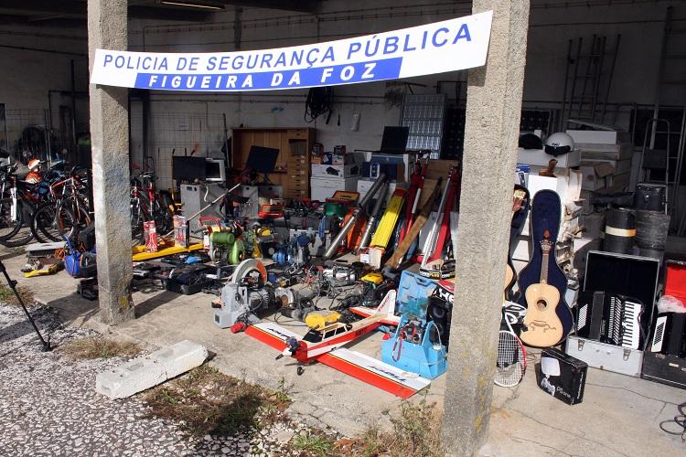 Rádio Regional do Centro: PSP da Figueira da Foz fez maior apreensão de sempre de material furtado