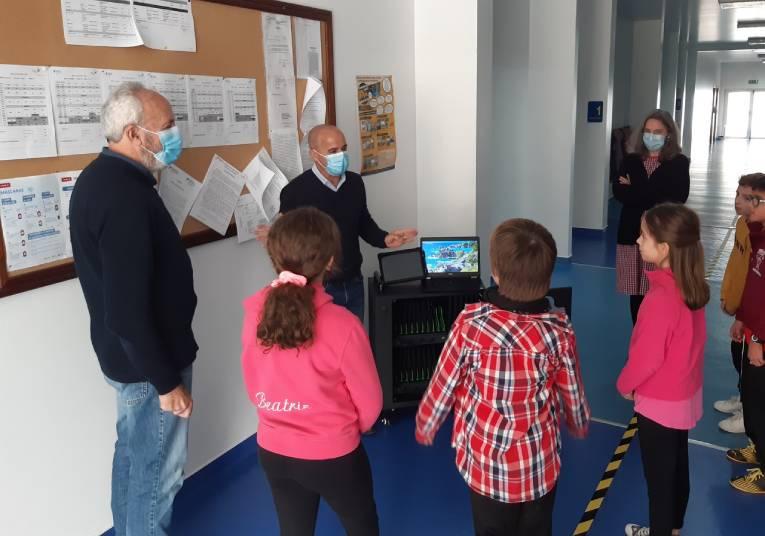 Rádio Regional do Centro: Ansião: Autarquia reforça recursos tecnológicos nas escolas