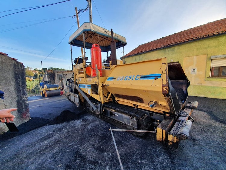 Rádio Regional do Centro: Plano de pavimentações da Câmara de Cantanhede prossegue em Ançã