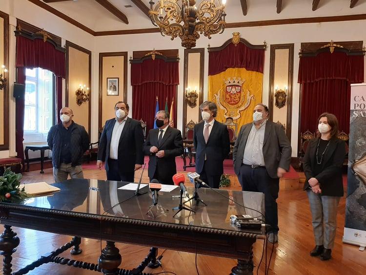 Rádio Regional do Centro: Coimbra, Condeixa e Anadia assinam acordo para certificação Caminho de Santiago