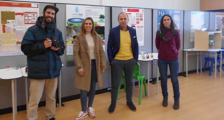 """Rádio Regional do Centro: Ciência viva da EPTOLIVA em destaque no programa da TV """"Falar Global"""""""