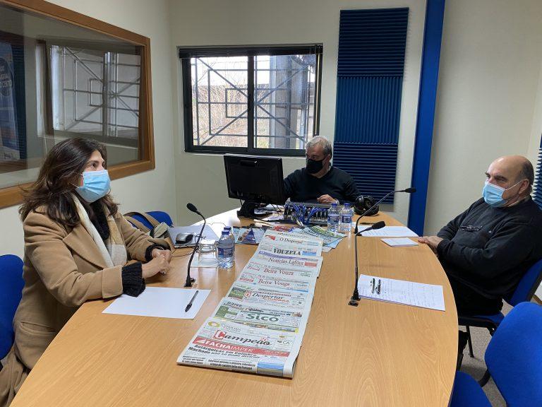 Rádio Regional do Centro: Praça da República – Entrevista a Paula Pêgo (Vereadora da CMC)