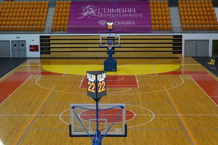 Rádio Regional do Centro: Coimbra dota Pavilhão Mário Mexia de condições de excelência para basquetebol