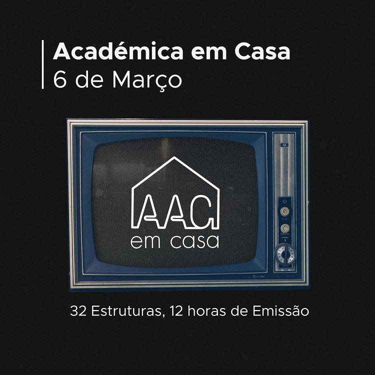 """Rádio Regional do Centro: AAC lança iniciativa """"Académica em Casa"""" para se aproximar dos estudantes"""