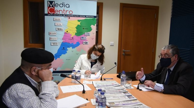 Rádio Regional do Centro: Praça da República – Entrevista a Manuel Machado (presidente da CM Coimbra)