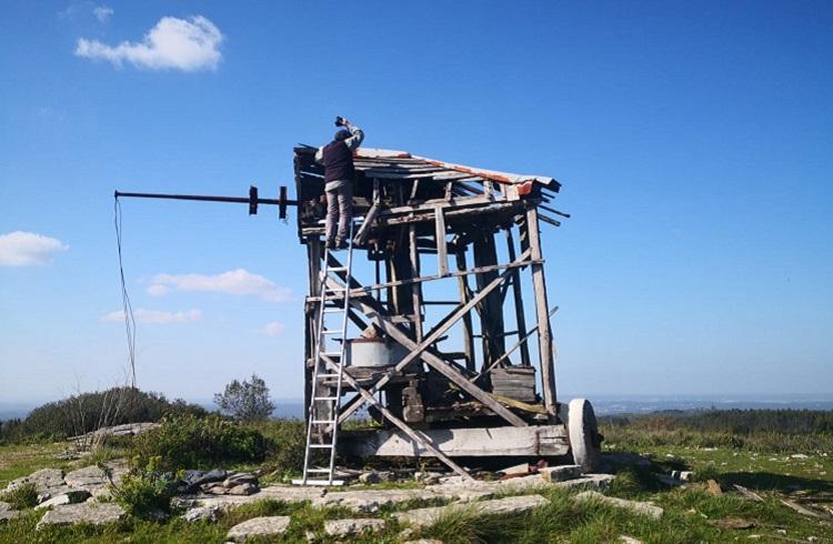 Rádio Regional do Centro: Moinho de vento da Serra de Janeanes, em Condeixa, vai ser recuperado