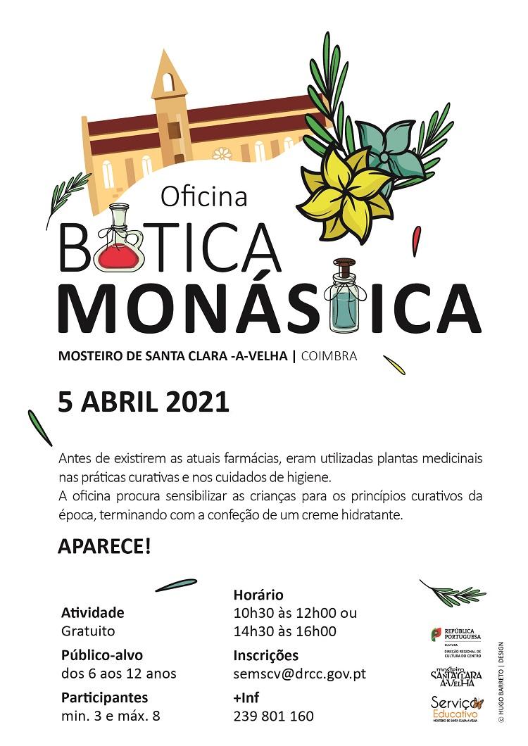 Rádio Regional do Centro: Mosteiro Santa Clara com oficina sobre cuidados de saúde com plantas medicinais