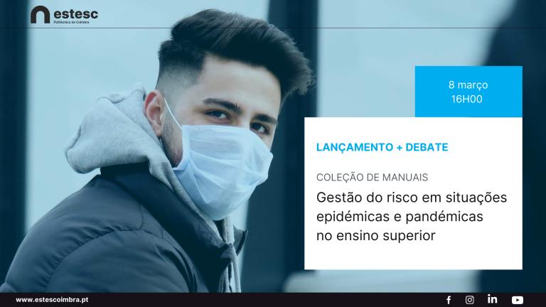 Rádio Regional do Centro: ESTeSC organiza debate gestão do risco em situações epidémicas e pandémicas