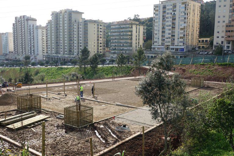 Rádio Regional do Centro: Parque canino já em construção na Av. Elísio de Moura em Coimbra
