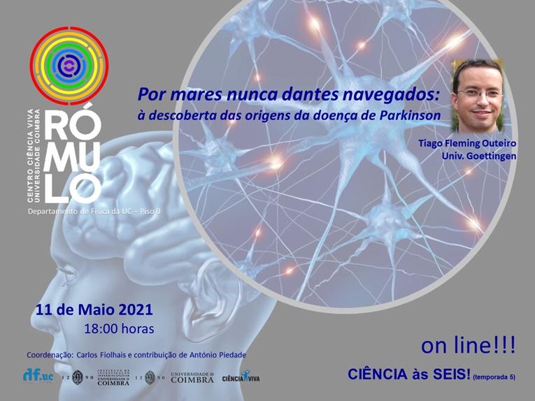 Rádio Regional do Centro: Rómulo apresenta palestra sobre origens da doença de Parkinson