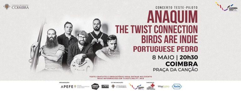 Rádio Regional do Centro: Coimbra organiza primeiro concerto teste-piloto para 1 000 pessoas
