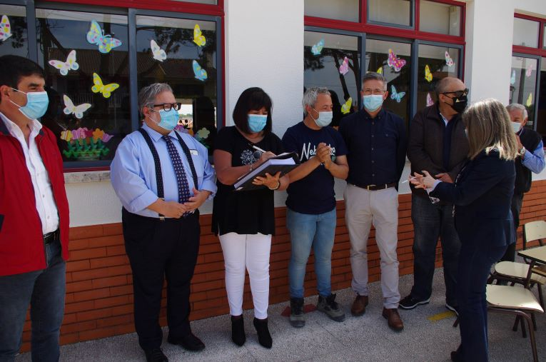Rádio Regional do Centro: Cantanhede requalifica Escola do 1.º CEB e Jardim de Infância de Febres