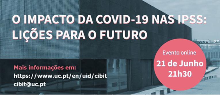 """Rádio Regional do Centro: UC promove webinar """"O impacto da covid-19 nas IPSS: Lições para o futuro"""""""