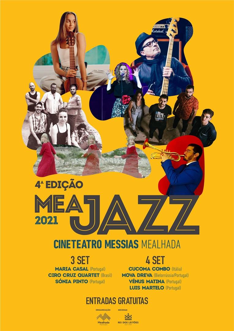Rádio Regional do Centro: Mealhada: Festival Meajazz regressa em setembro