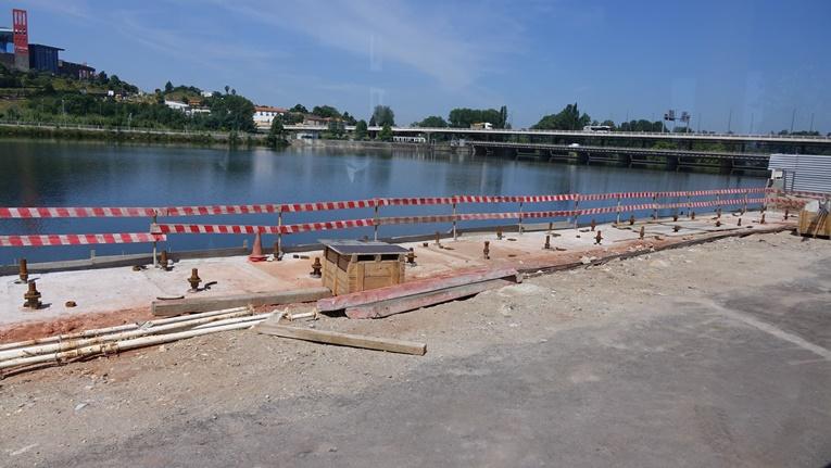 Rádio Regional do Centro: Câmara de Coimbra promoveu visita às obras nas margens do Mondego