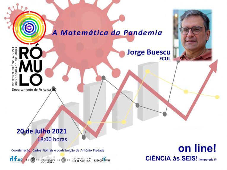 Rádio Regional do Centro: CIÊNCIA ÀS SEIS! no RÓMULO: A Matemática da Pandemia