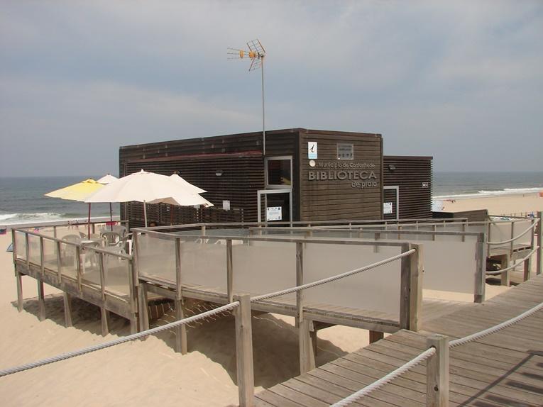 Rádio Regional do Centro: Cantanhede: Biblioteca da Praia da Tocha está a funcionar até ao final do Verão