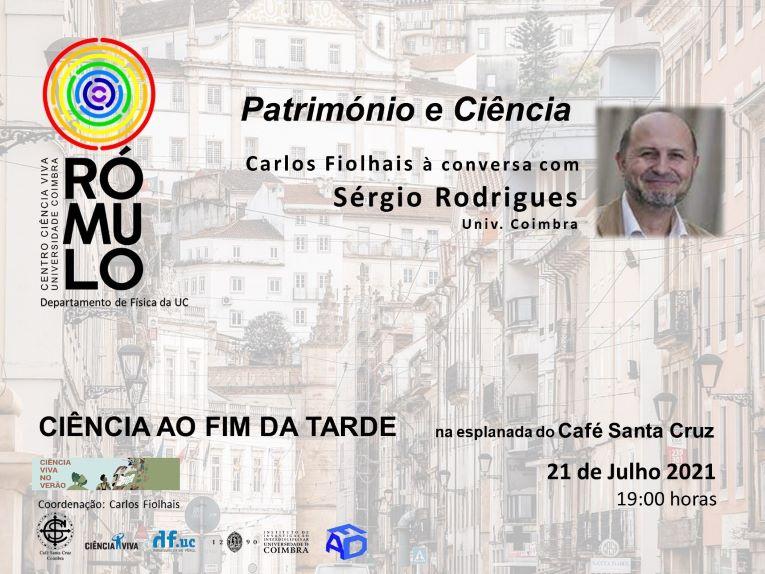 Rádio Regional do Centro: Património e Ciência no Café Santa Cruz em Coimbra