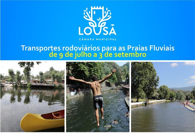 Rádio Regional do Centro: Lousã: Autarquia assegura transporte para os espaços fluviais do concelho