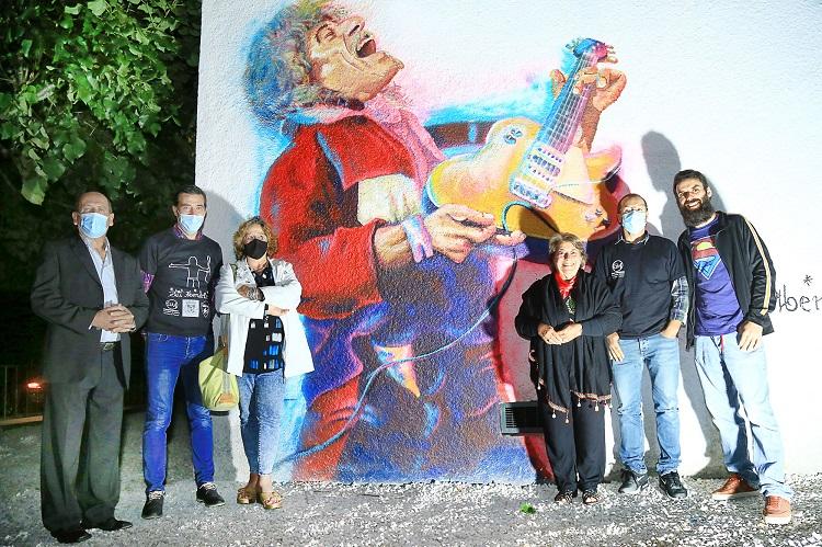 Rádio Regional do Centro: Poiares assinalou Dia Mundial do Rock com mural dedicado a Phil Mendrix