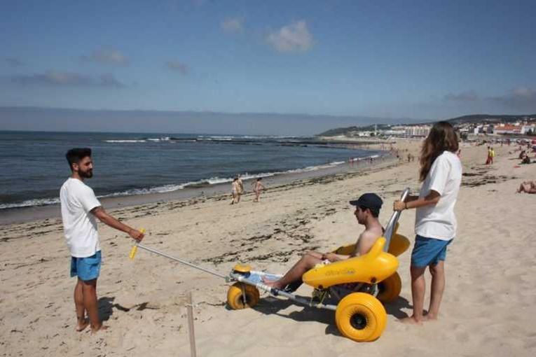 Rádio Regional do Centro: Figueira da Foz promove projecto de inclusão na praia