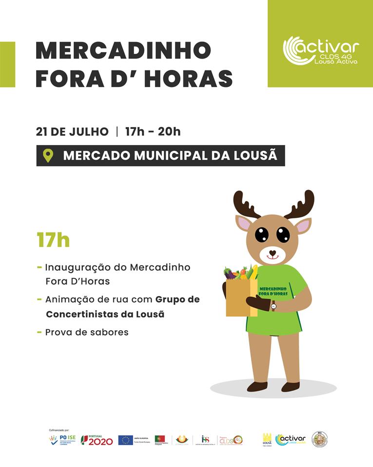 """Rádio Regional do Centro: Lousã: Mercadinho """"Fora d´Horas"""" promove a venda de produtos biológicos"""