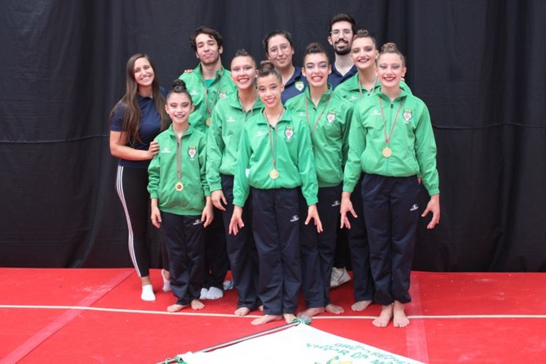 Rádio Regional do Centro: Grupo Mocidade destaca-se no campeonato de Ginástica Acrobática