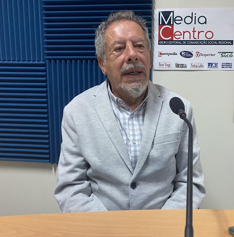 Rádio Regional do Centro: Praça da República – Entrevista a José Simão (presidente da UF Sta. Clara e Castelo Viegas)