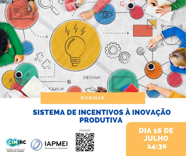 Rádio Regional do Centro: CIM Coimbra realiza webinar sobre o Sistema de Incentivos de Inovação Produtiva